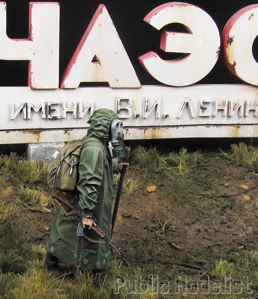 Диорамы и виньетки: ЧАЭС имени В.И. Ленина, фото #1