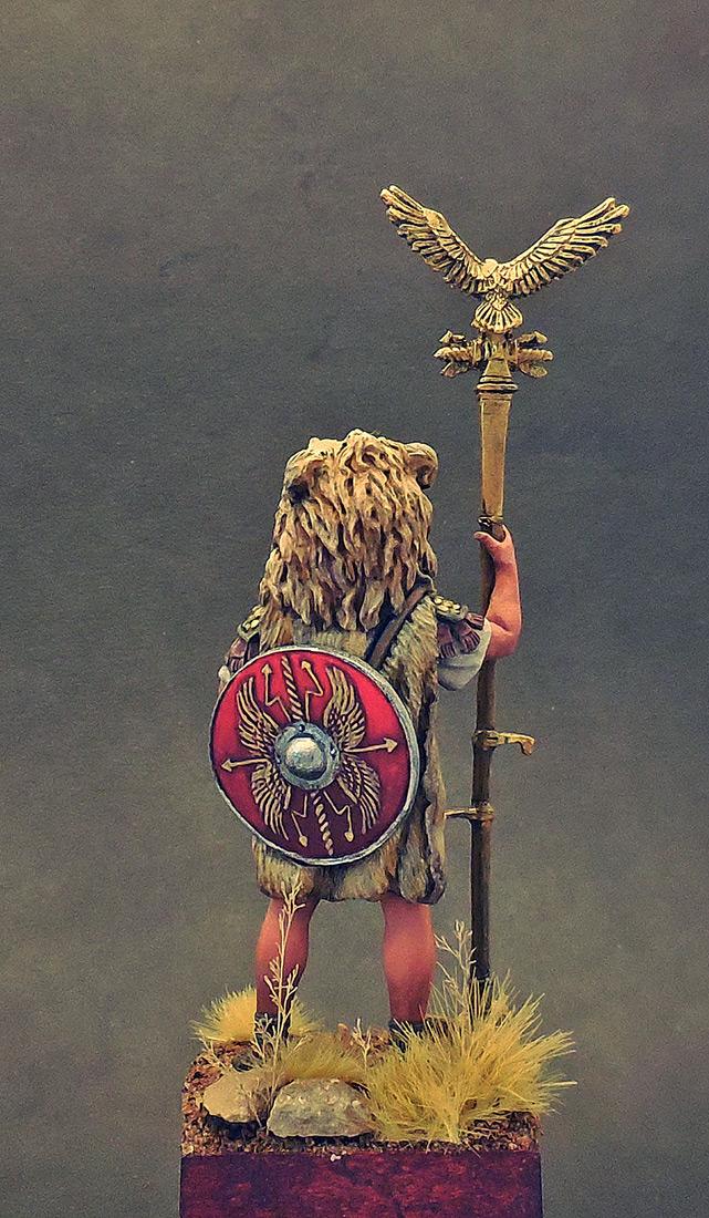 Фигурки: Аквилифер римского легиона. 1-2 вв. н.э., фото #3