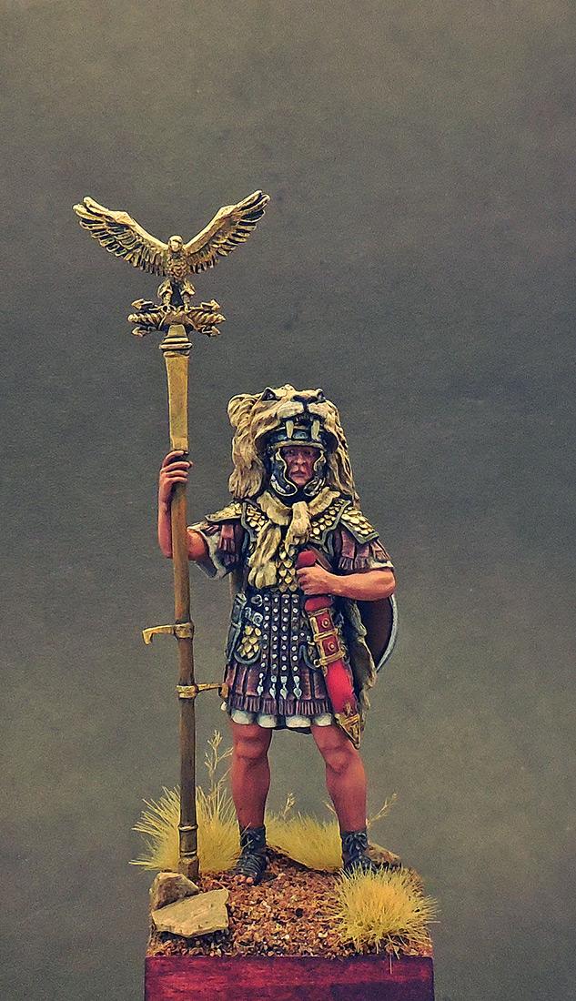 Фигурки: Аквилифер римского легиона. 1-2 вв. н.э., фото #5