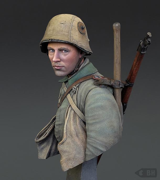 Фигурки: Сапер штурмового батальона №5, 1916