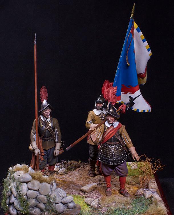 Фигурки: Европейские воины – Тридцатилетняя война
