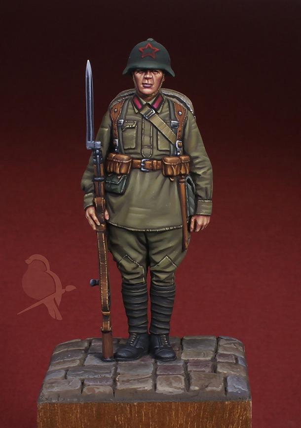 Фигурки:  Красноармеец пехоты РККА, 1939-41 гг.