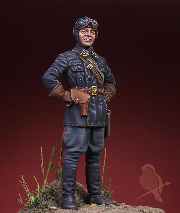 Фигурки: Лейтенант автобронетанковых войск 1939-42 гг.