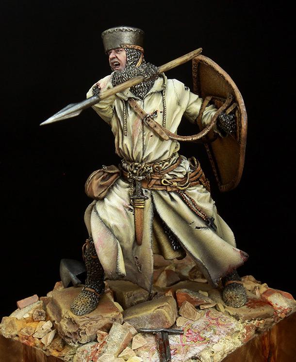 Фигурки: Рыцарь ордена (XII-XIII в.н.э.)