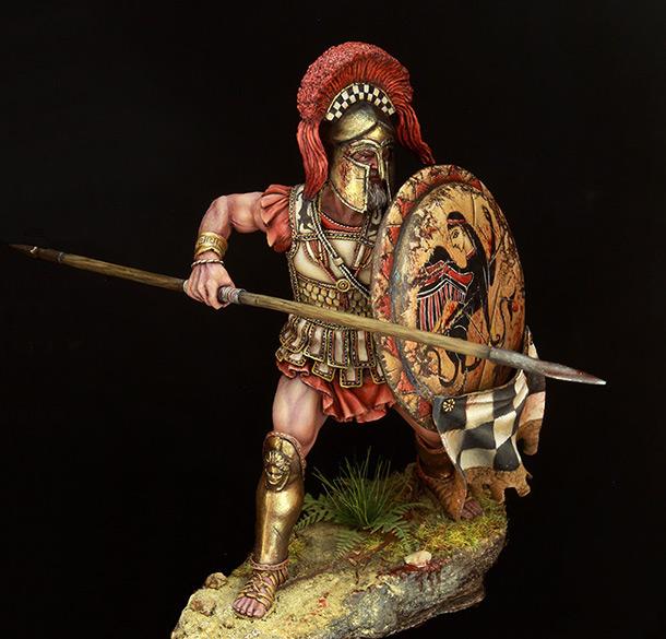 Фигурки:  Греческий гоплит (Vв. до н.э.)