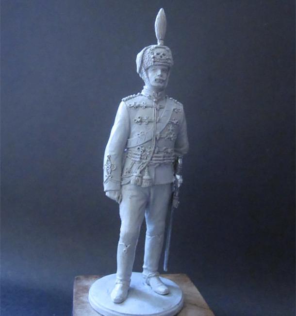 Скульптура: Гусар, 1914 г.