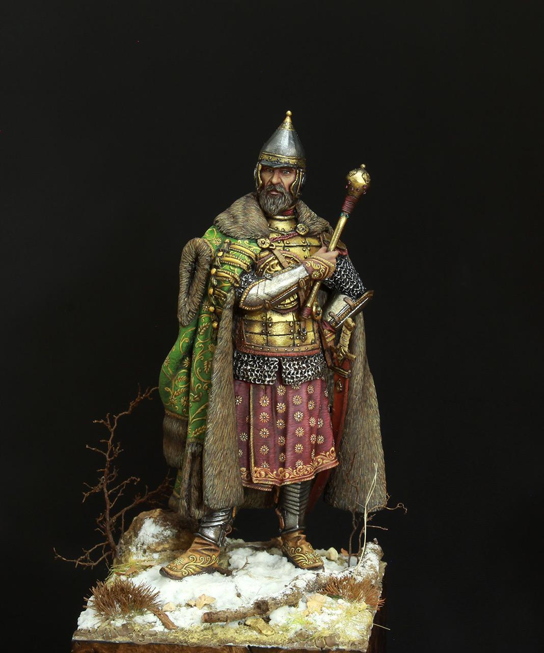 Фигурки: Московский боярин-воевода, XVII в., фото #1
