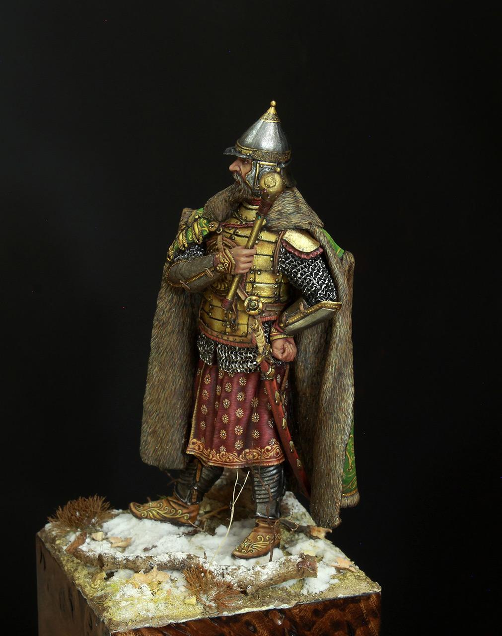 Фигурки: Московский боярин-воевода, XVII в., фото #3