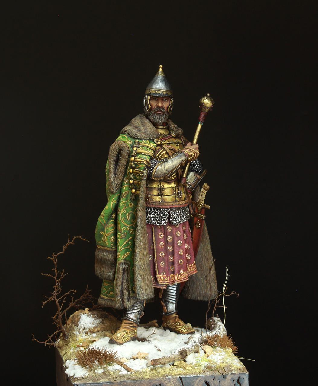 Фигурки: Московский боярин-воевода, XVII в., фото #7