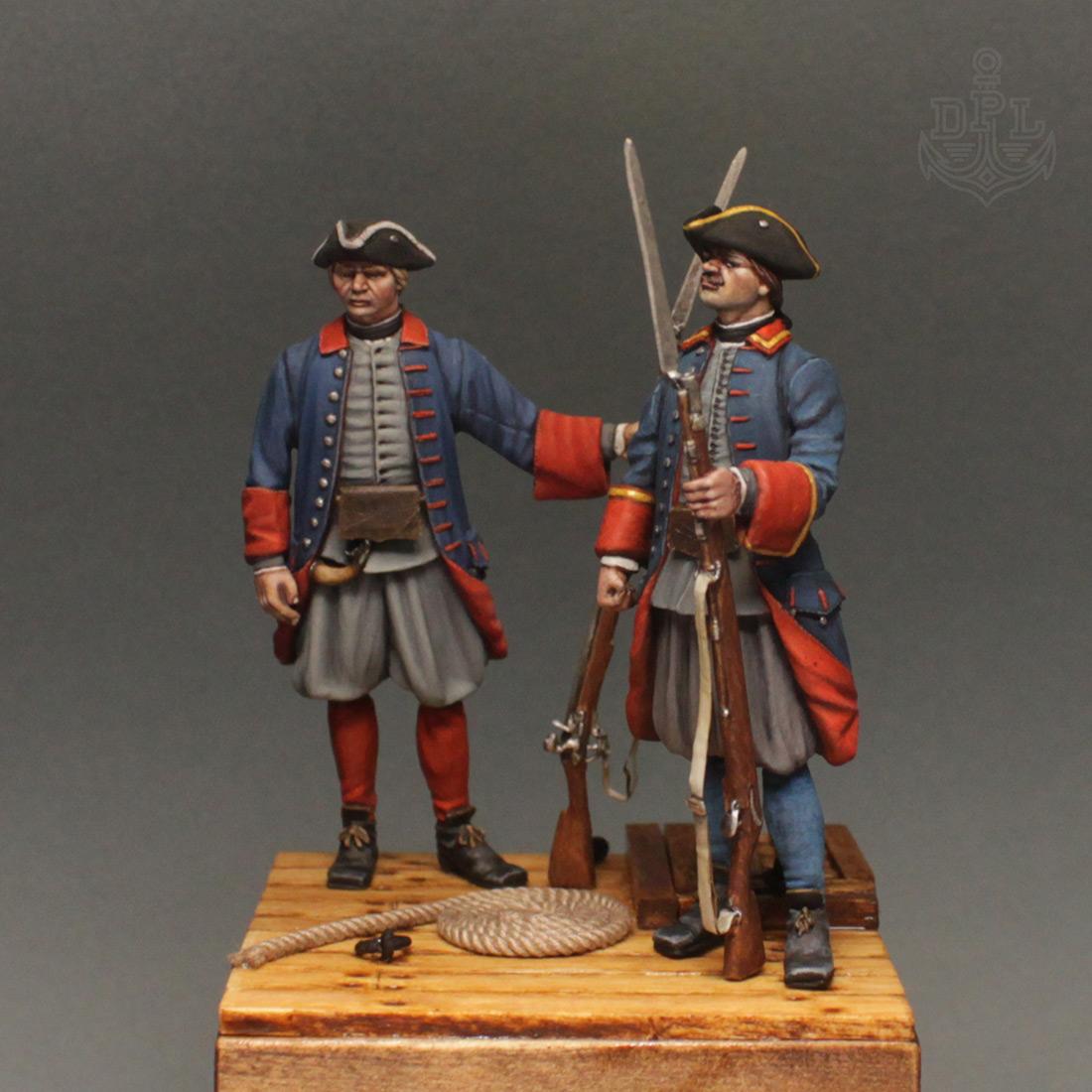 Фигурки: Морские солдаты Петра Великого, фото #1