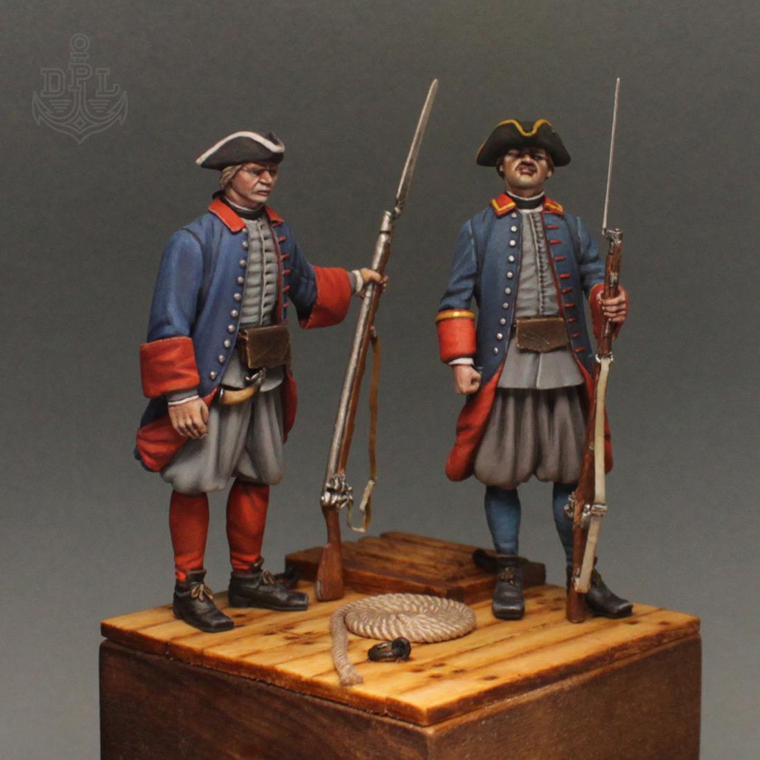 Фигурки: Морские солдаты Петра Великого, фото #2