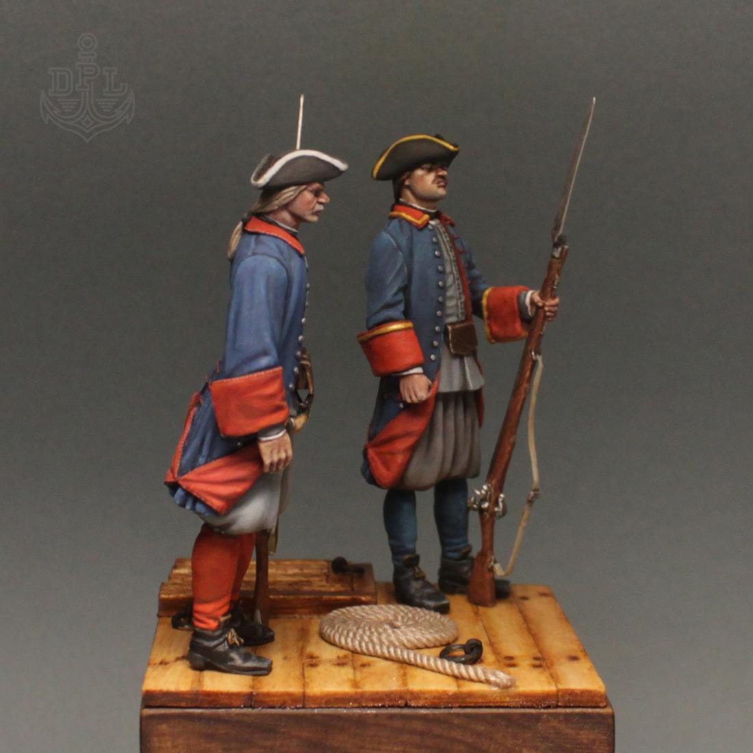 Фигурки: Морские солдаты Петра Великого, фото #3
