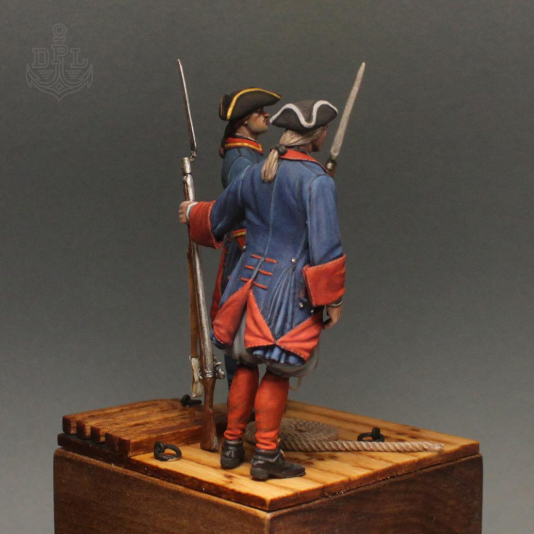 Фигурки: Морские солдаты Петра Великого, фото #4