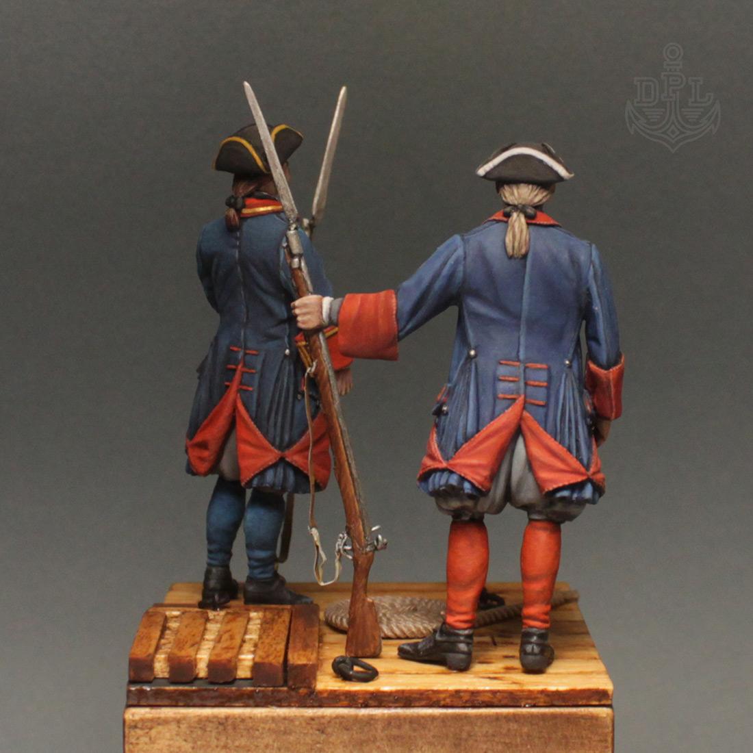 Фигурки: Морские солдаты Петра Великого, фото #5