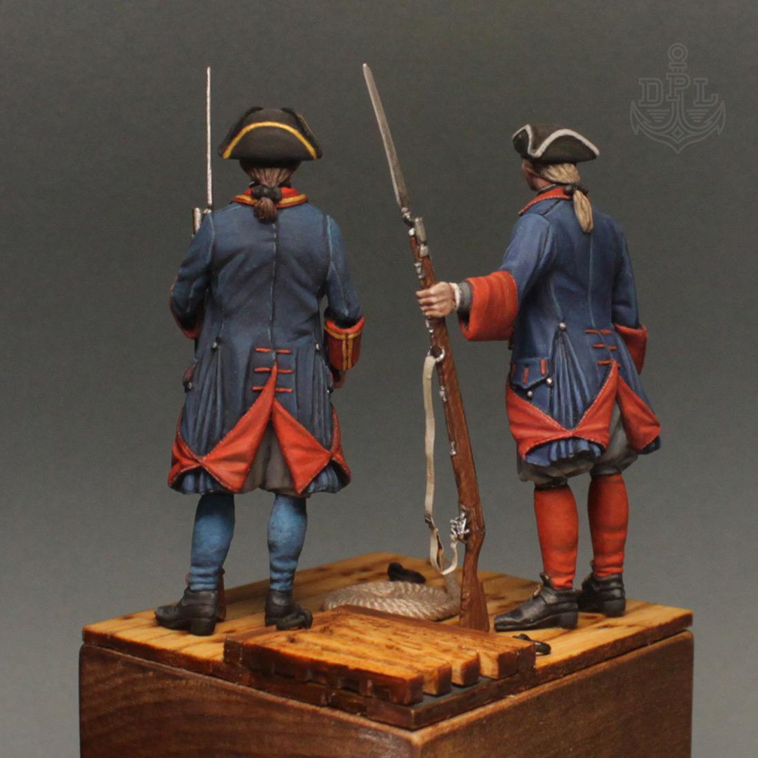 Фигурки: Морские солдаты Петра Великого, фото #6