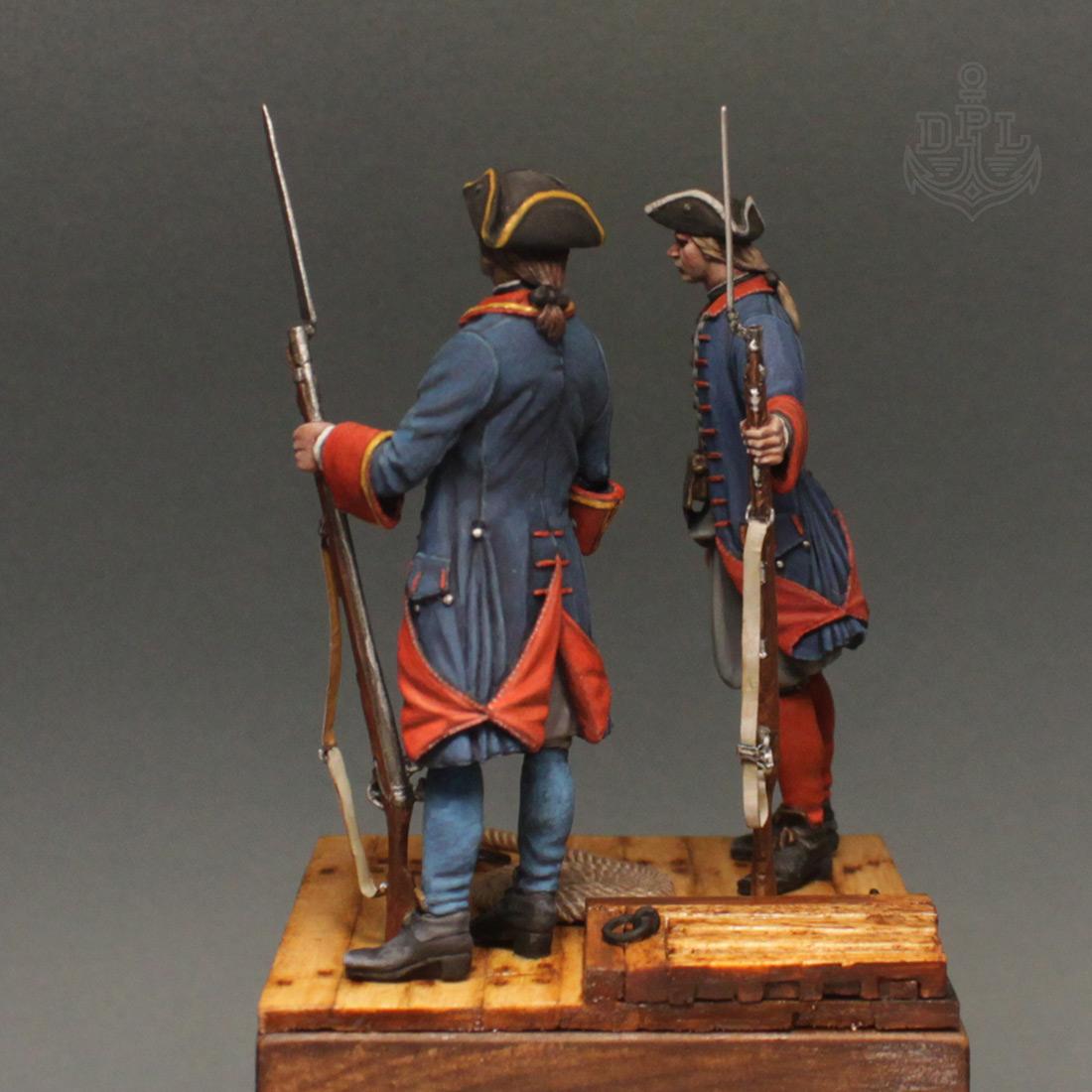 Фигурки: Морские солдаты Петра Великого, фото #7