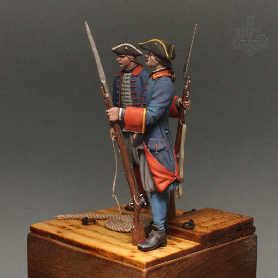 Фигурки: Морские солдаты Петра Великого, фото #8