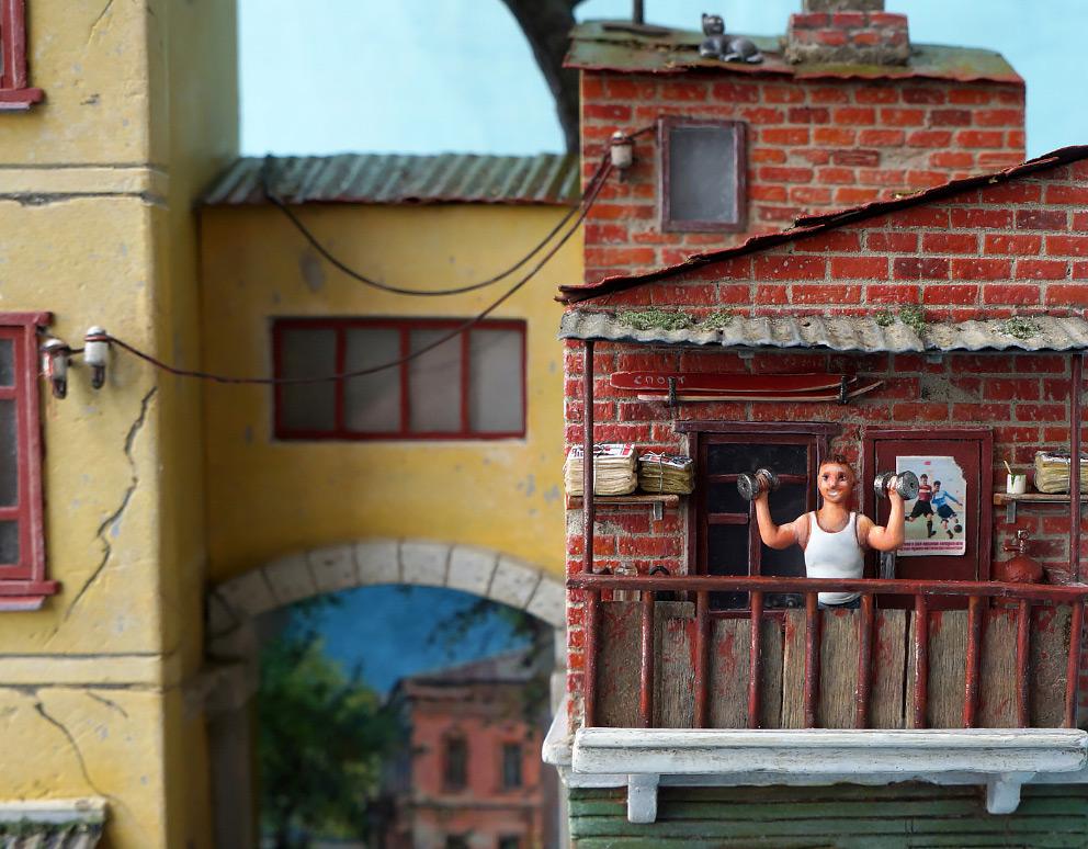 Диорамы и виньетки: Улица Советская, фото #10