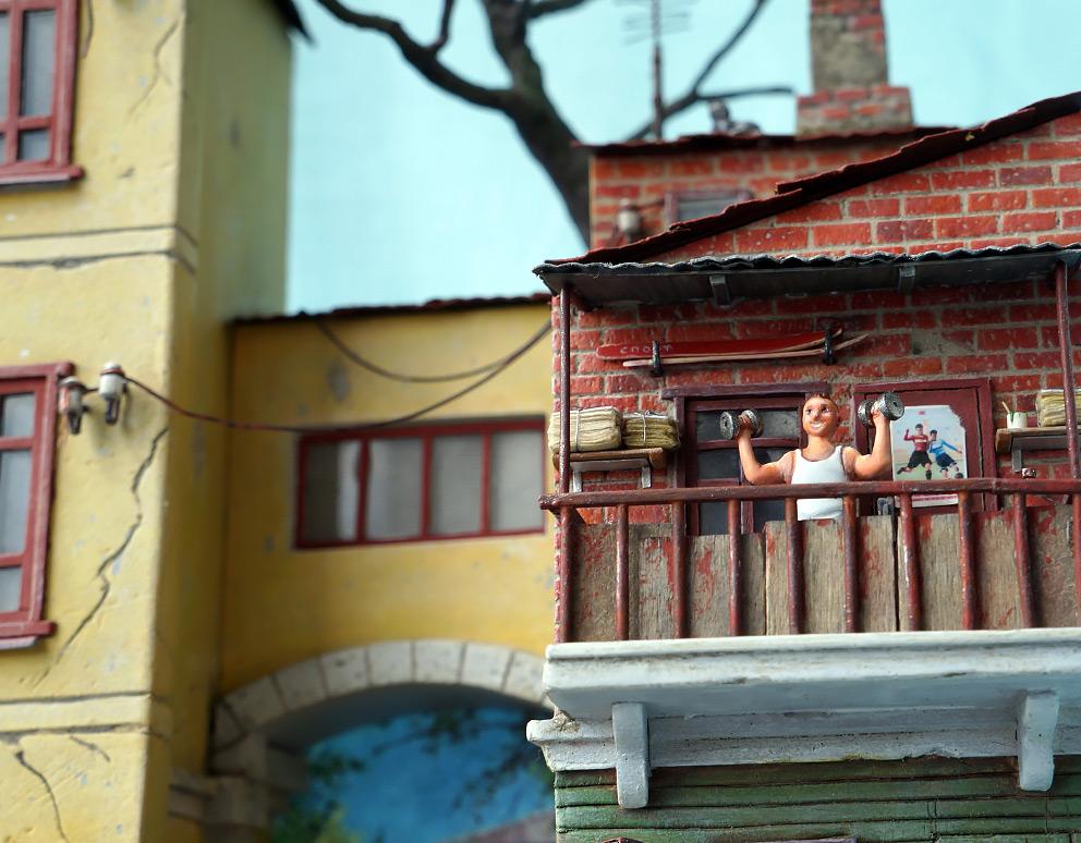 Диорамы и виньетки: Улица Советская, фото #13