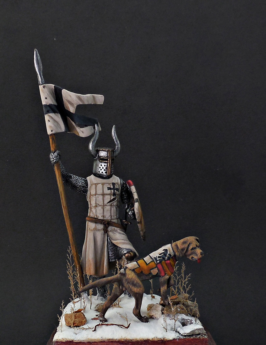 Фигурки: Рыцарь Тевтонского ордена, XII век, фото #1