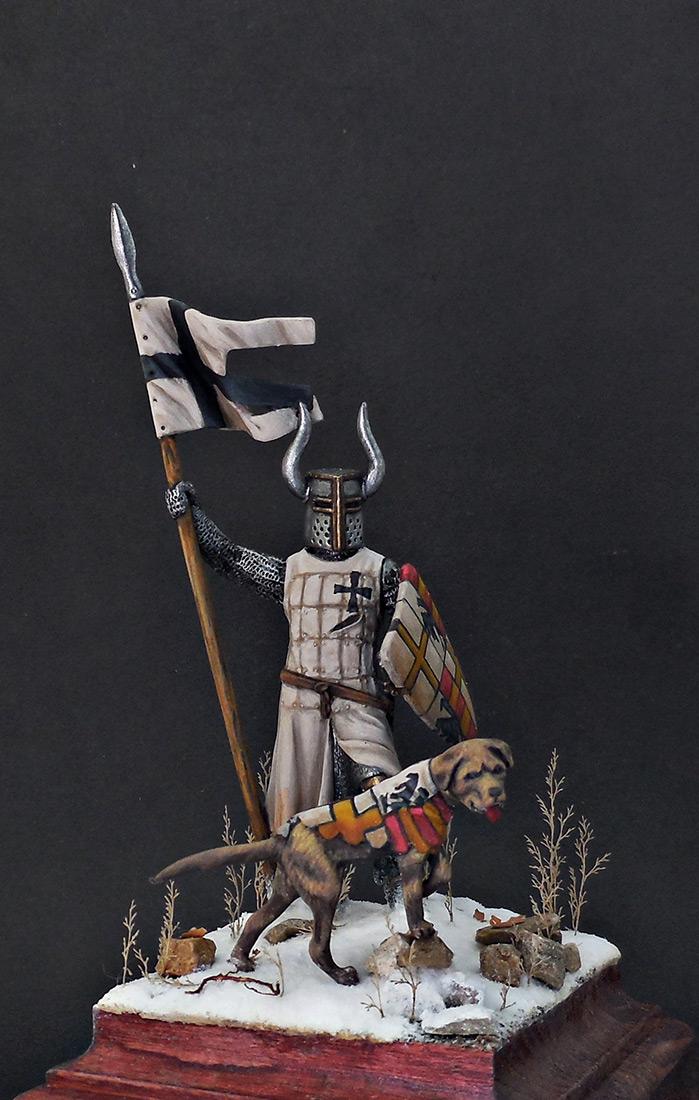 Фигурки: Рыцарь Тевтонского ордена, XII век, фото #2