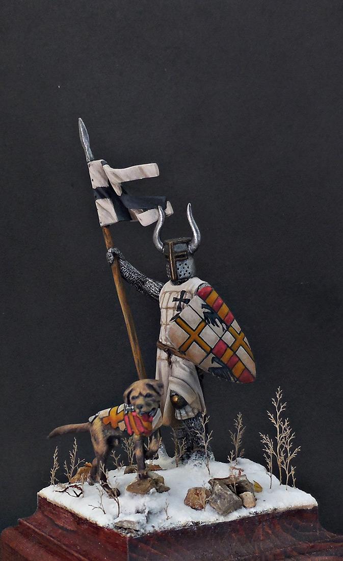 Фигурки: Рыцарь Тевтонского ордена, XII век, фото #3