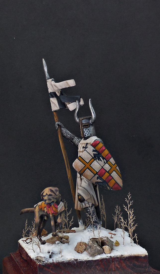 Фигурки: Рыцарь Тевтонского ордена, XII век, фото #4