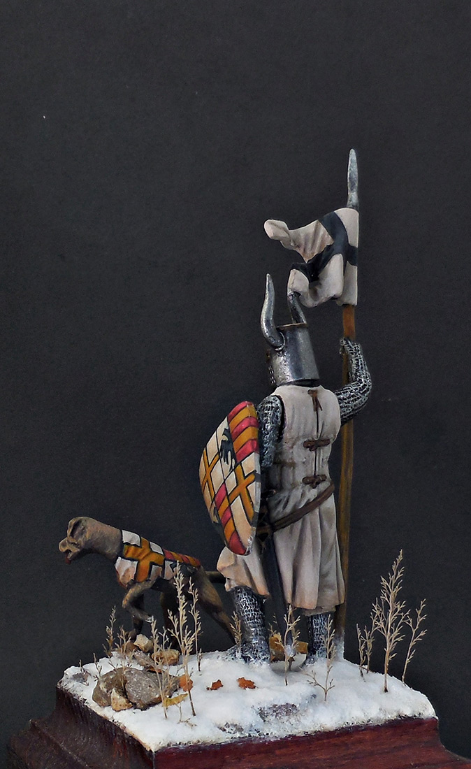 Фигурки: Рыцарь Тевтонского ордена, XII век, фото #5