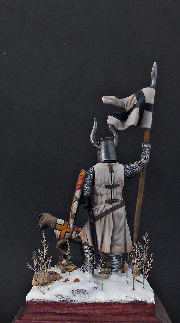 Фигурки: Рыцарь Тевтонского ордена, XII век, фото #6
