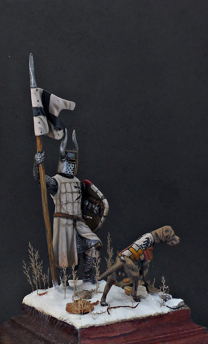 Фигурки: Рыцарь Тевтонского ордена, XII век, фото #7