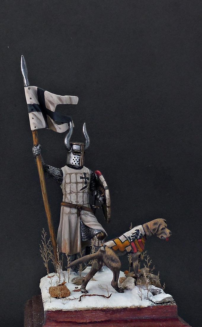 Фигурки: Рыцарь Тевтонского ордена, XII век, фото #8