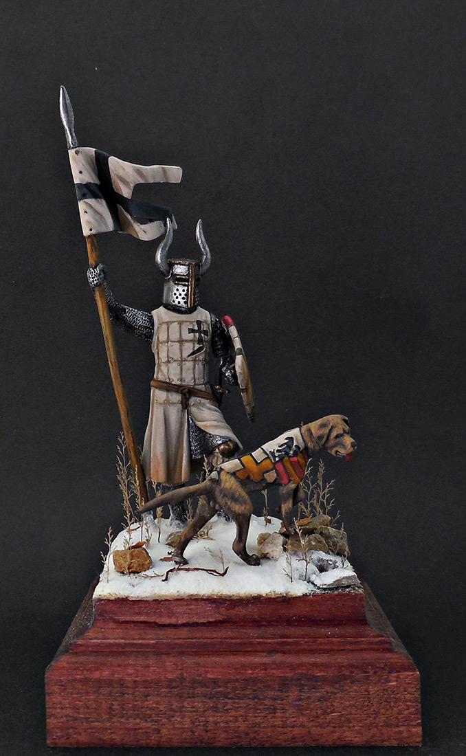 Фигурки: Рыцарь Тевтонского ордена, XII век, фото #9