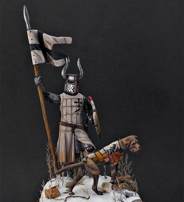 Фигурки: Рыцарь Тевтонского ордена, XII век