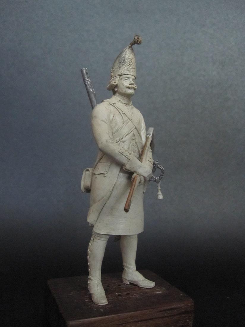 Скульптура: Фрунтовой мастеровой гренадерских полков, 1797-1801гг. , фото #1