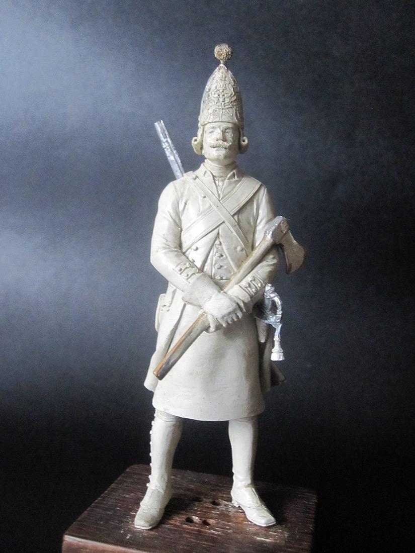 Скульптура: Фрунтовой мастеровой гренадерских полков, 1797-1801гг. , фото #2
