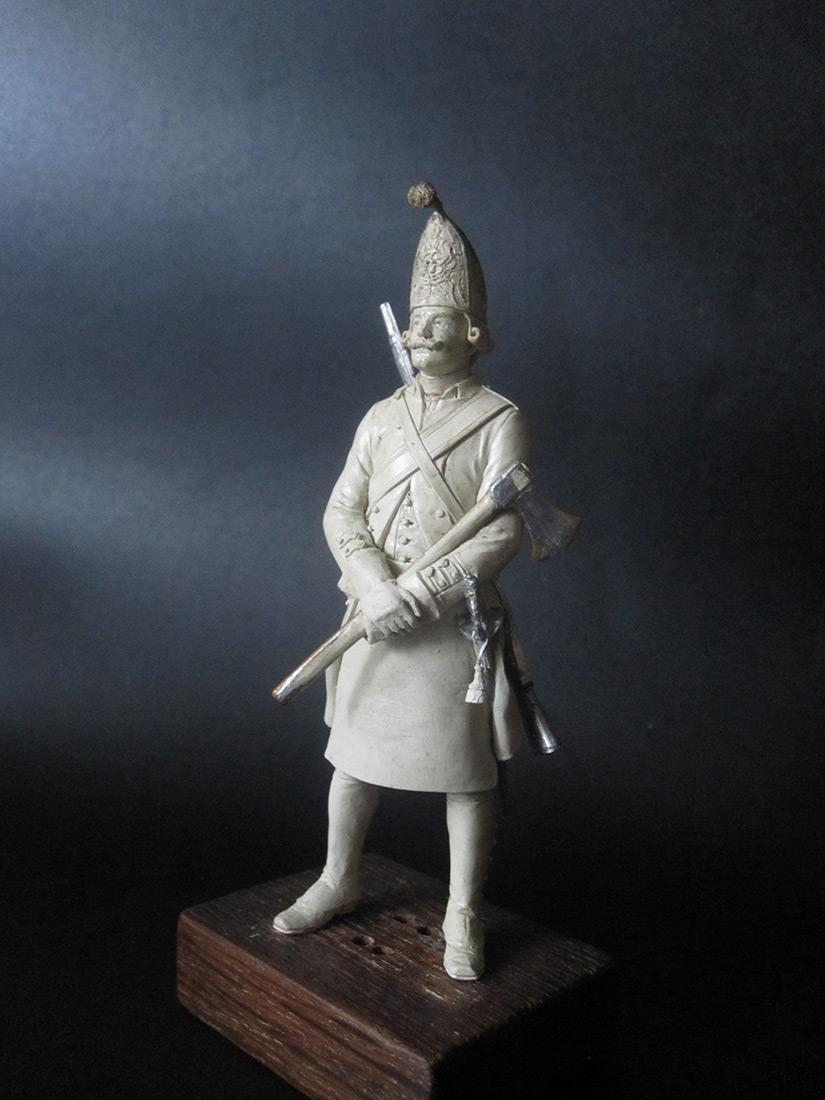 Скульптура: Фрунтовой мастеровой гренадерских полков, 1797-1801гг. , фото #3