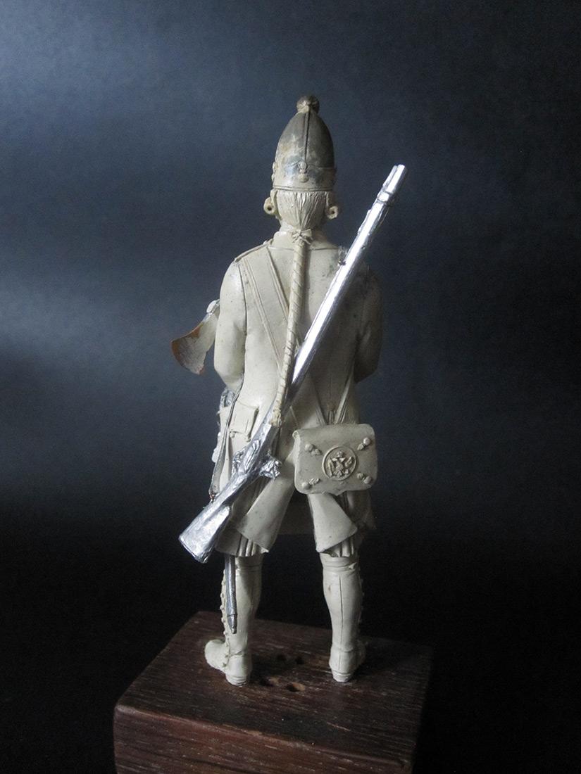Скульптура: Фрунтовой мастеровой гренадерских полков, 1797-1801гг. , фото #4