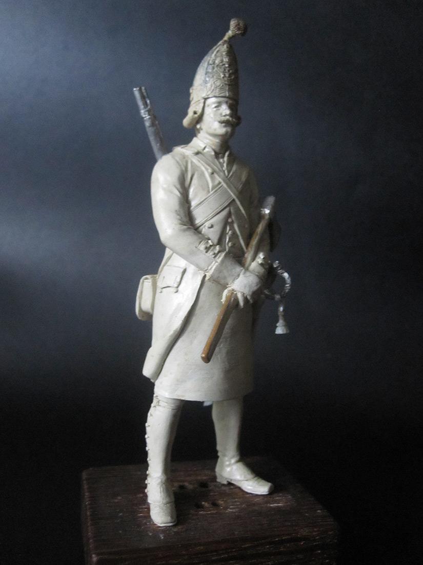 Скульптура: Фрунтовой мастеровой гренадерских полков, 1797-1801гг. , фото #5