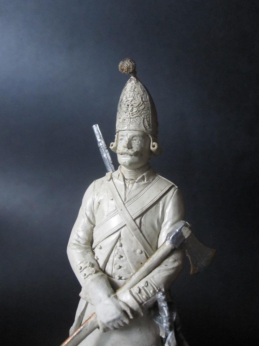 Скульптура: Фрунтовой мастеровой гренадерских полков, 1797-1801гг. , фото #6