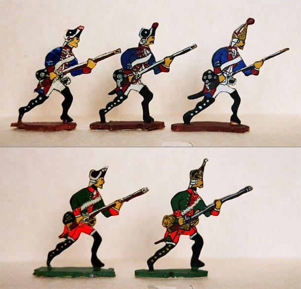 Разное: Пехота Семилетней Войны, 1756-1763 гг.