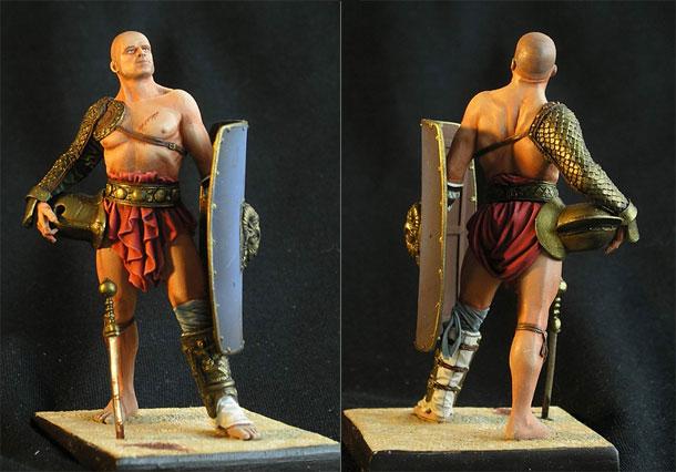 Фигурки: Гладиатор Secutor, I век н.э.