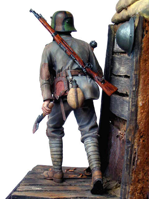 Фигурки: Боец немецкой штурмовой группы, 1917-18, фото #15