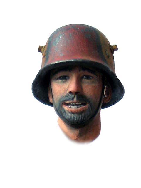 Фигурки: Боец немецкой штурмовой группы, 1917-18, фото #6