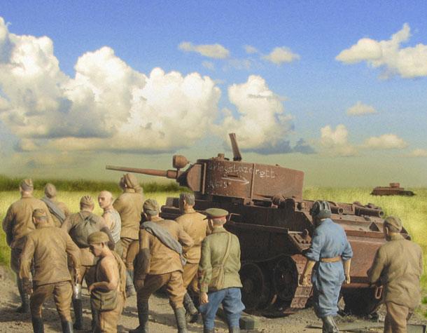 Диорамы и виньетки: Плен. Лето 1941-го