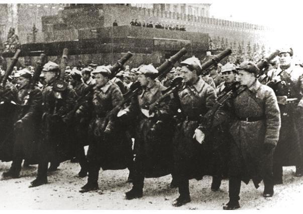 Фигурки: Парад 7 ноября 1941г., фото #5