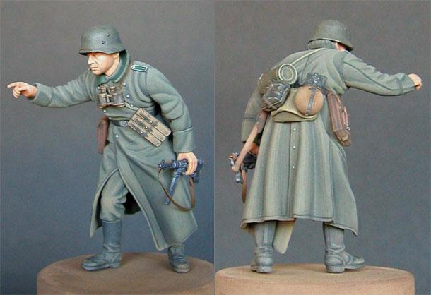 Фигурки: Фельдфебель 389-й пехотной дивизии
