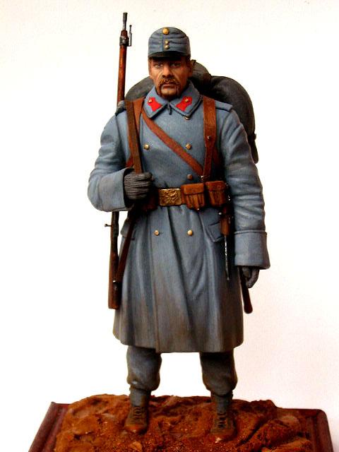 Фигурки: Пехотинец армии Австро-Венгрии, 1914 г., фото #1