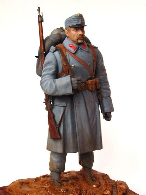 Фигурки: Пехотинец армии Австро-Венгрии, 1914 г., фото #2