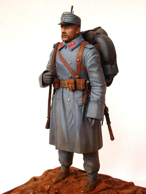 Фигурки: Пехотинец армии Австро-Венгрии, 1914 г., фото #3