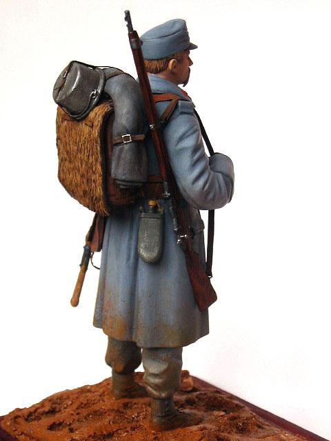 Фигурки: Пехотинец армии Австро-Венгрии, 1914 г., фото #5